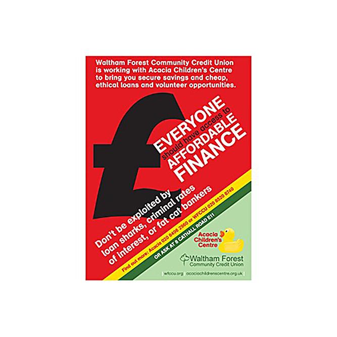 Leytonstone Children's Centre - WFCCU leaflet