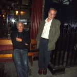 Bill and Chris in Clerkenwell